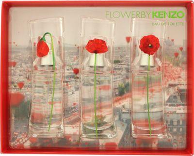 Kenzo Flower Gift Set 3 x 15ml Miniatures For Women