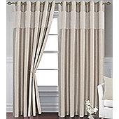 Gold Eyelet Curtains 90 x 72s - Venice