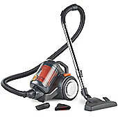 VonHaus Bagless Cylinder Vacuum Cleaner 1400W - 2.5L Compact Vac with Powerful Suction, HEPA Filtration, Portable Design & Cyclonic Technology