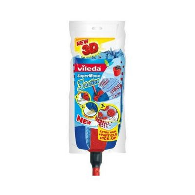 Vileda 131717 Supermocio Mop & Foc Refill