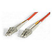 StarTech.com 2m Duplex MM Fiber Optic Cable LC-LC