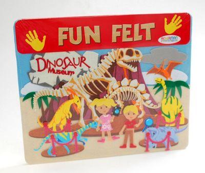 Ackerman Fun Felt Dinosaur Set