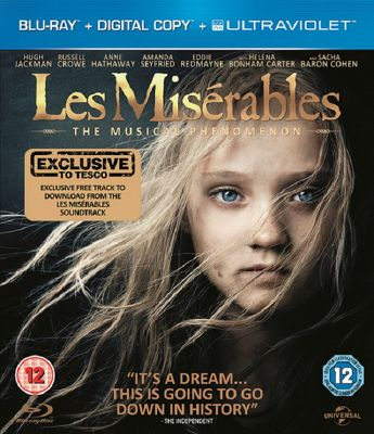 Les Miserables (2012) - Blu-Ray + Digital Copy + Uv Copy (Includes Exclusive Free Track Download From The Film Soundtrack)