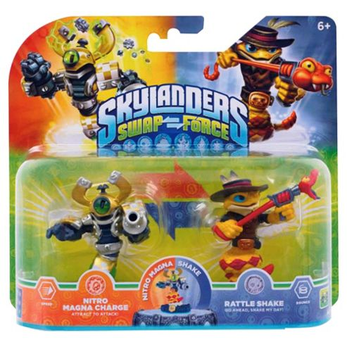 Tesco Exclusive Double Pack : Double Pack Nitro Magna Charge And Rattle Shake