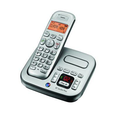 BT Studio 4500 Dect Cordless Answer Machine Telephone