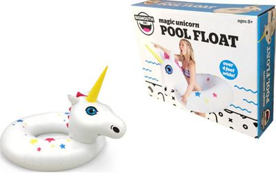 BigMouth Inflatable Giant Star Unicorn Pool Float Beach Holiday Swimming Lounger Water Beach