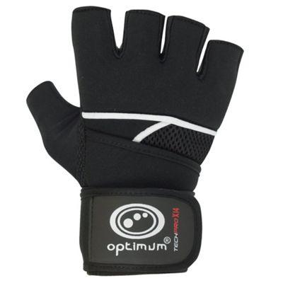 Optimum Techpro X14 Gel Boxing Inner Gloves Black/Red - XL