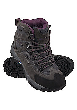 Atmosphere Womens Waterproof Rainproof Vibram Sole Padded Walking Boots - Grey