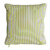 Alexander Rose - 36cm Scatter Cushion - Light Green Stripe
