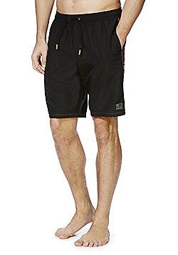 F&F Mid Length Swim Shorts - Black