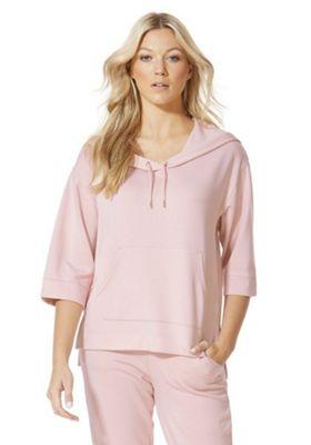 F&F Boxy Lounge Hoodie 6 Pink