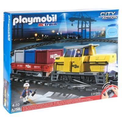Playmobil 5258 City Action RC Freight Train