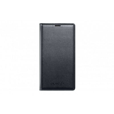 Samsung Original Flip Wallet for Galaxy S5 - Blue Black