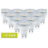 Integral LED GU10 Classic PAR16 4.7W (55W) 4000K 420lm Non-Dimmable Spotlight Light Bulb - 10 Pack