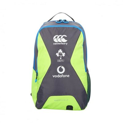 Canterbury Ireland 2017/18 Small Rugby Training Backpack Bag Grey/Green