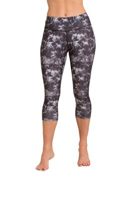 Zakti Patterned Capri Leggings ( Size: 6 )