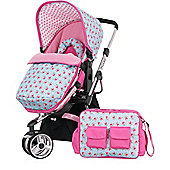 OBaby Chase Stroller (Cottage Rose)