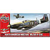 Airfix A14003A North American P-51K/Rf Mustang 1:24 Aircraft Model Kit