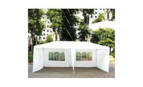 6x3m White Garden Party Tent Marquee Gazebo