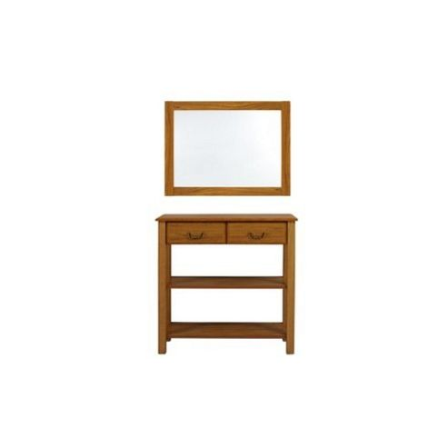 Caxton Tennyson Console Table Set in Teak