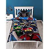 Lego Ninjago Movie Crew Single Duvet Cover and Pillowcase Set