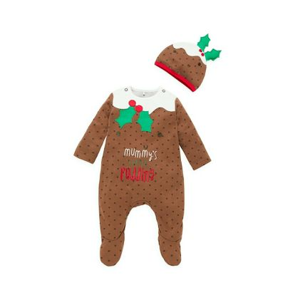 Mothercare Christmas Pudding All In One Dress Up Outfit Size 6-9 months - Buy Mothercare Christmas Pudding All In One Dress Up Outfit Size 6-9