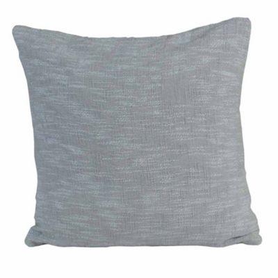 Homescapes Nirvana Cotton Grey Cushion Cover, 60 x 60 cm