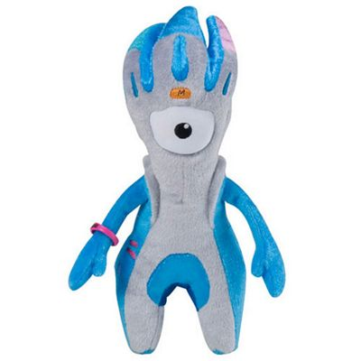 London 2012 Mandeville 30cm Soft Toy