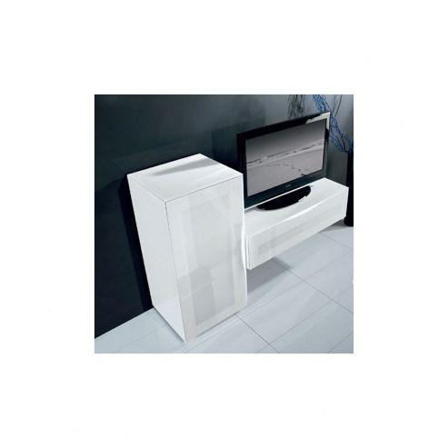 Triskom Exclusive Composition 4 TV Stand - Composition 4A - Left - Grey