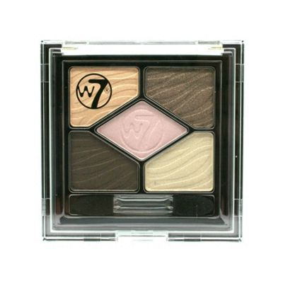 W7 Silky Eyes Shadow Colour Palette Bare It All Make Up Cosmetic Eyeshadow Kit