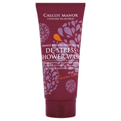 Calcot Manor  The Signature Collection DeStress Shower Wash