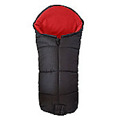 Deluxe Footmuff To Fit phil and teds Navigator / Classic / Dot Red