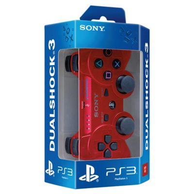 PS3 Controller - Official Dualshock 3 (Red)