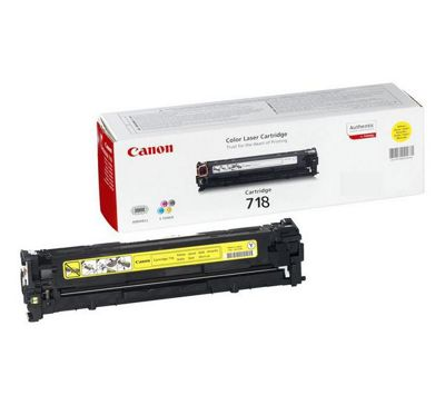 Canon 718 Toner Cartridge - Yellow