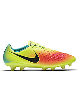 Nike Magista Opus II FG Mens Football Boots - Volt/Black - Yellow