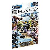 Mega Bloks Halo - Micro Action Figures Bravo Series Foil Bag