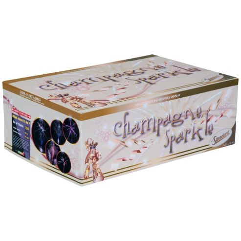 Champagne Sparkle 105 Shot Firework