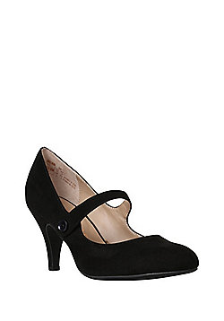 F&F Sensitive Sole Mary Jane Shoes - Black