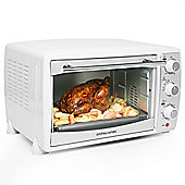 Andrew James Mini Oven and Grill in White, 20 Litre - 1500 Watts