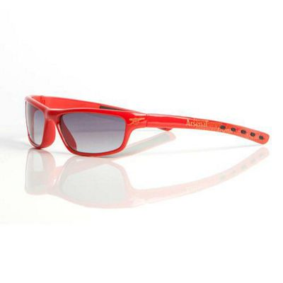 Arsenal Fan Frames Junior/Teen Wrap Sunglasses - Red