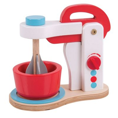 Bigjigs Toys Wooden Food Mixer - Pretend Play