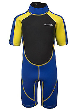 Mountain Warehouse Kids Shorty Wetsuit - Yellow
