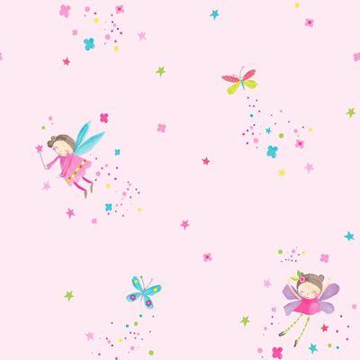 Fairy Dust Glitter Wallpaper - Pink - Arthouse 667100