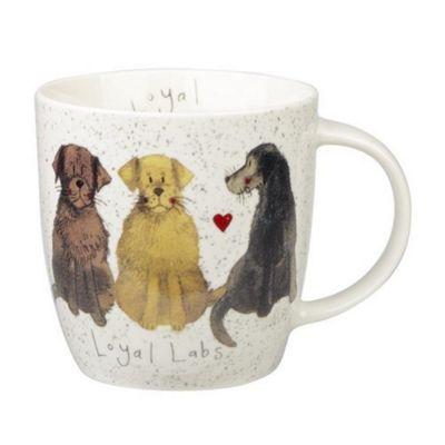 Alex Clark Mugs Labrador Squash Mug