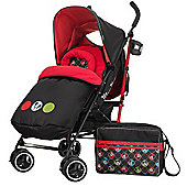 OBaby Disney Stroller Bundle (Mickey Circles)