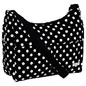 Baby Elegance Tote Baby Changing Bag Polka, Black