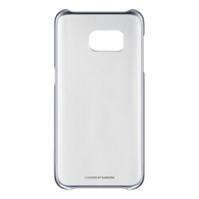 Samsung Case for Smartphone - Clear Silver, Transparent