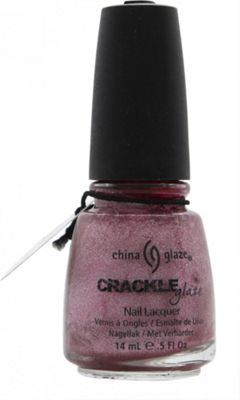 China Glaze Crackle Glaze Nail Lacquer Haute Metal 1046 14ml