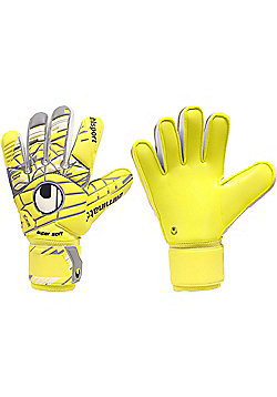 Uhlsport Eliminator Supersoft Junior  Goalkeeper Gloves - Yellow