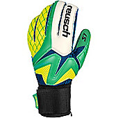 Reusch Waorani Pro S1 Mens Goalkeeper Goalie Keeper Glove - Green